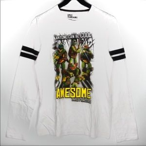 TMNT Classic Graphic Long Sleeves Tee Size XL